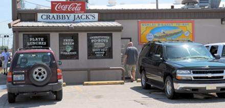 Crabby Jack's Location