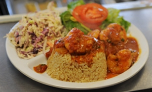 Shrimp Creole with Rice from Crabby Jack's New Orleans