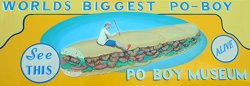 Get your overstuffed po'boys at Crabby Jack's